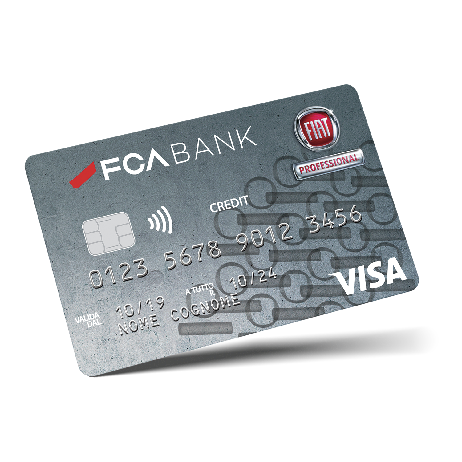 Credit Card Fiat Professional